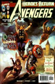 Avengers #2 Variant (1998) Heroes Return Marvel Comics US Import Busiek Perez